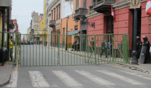 ¡Atención!  Cerrarán las calles del Centro de Lima por actividades oficiales de Fiestas Patrias