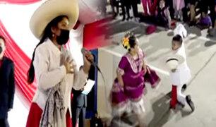 Cajamarca realiza actividades festivas para celebrar 28 de julio y la asunción de Castillo