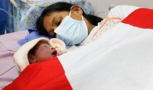 Instituto Nacional Materno Perinatal: Conoce al primer bebé del Bicentenario