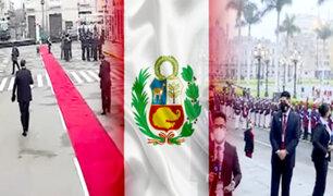 Cercado: Plaza Bolívar y Plaza de Armas se alistan para iniciar celebración por Fiestas Patrias