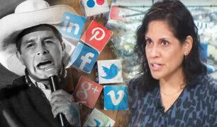 Maite Vizcarra: Las redes sociales sacaron del anonimato a Perú Libre