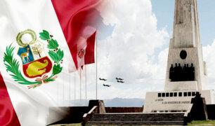 Castillo realizará juramentación simbólica en la Pampa de la Quinua