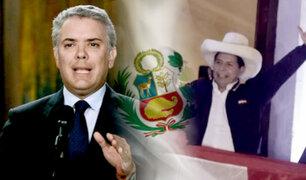 """Iván Duque sobre reunión con Pedro Castillo: """"fue muy productiva"""""""