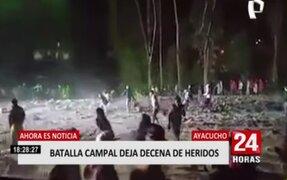 Fiesta 'Covid' termina en batalla campal en Ayacucho