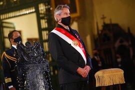 Francisco Sagasti y ex ministros de Estado participaron de la Misa solemne y Te Deum
