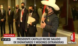 Pedro Castillo llamó a la unidad entre países durante almuerzo protocolar en San Borja