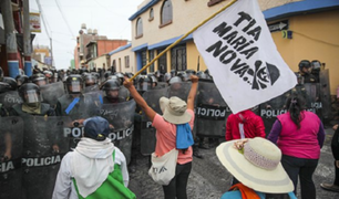 Ordenan sentencia contra imputado que dirigió protestas contra Tía María en Islay