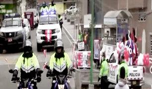 El Agustino: autoridades celebran Bicentenario con un pasacalle