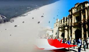 Así celebraron el Bicentenario las diferentes ciudades del Perú