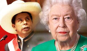 Reina Isabel II envió mensaje de felicitación a Pedro Castillo