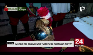 Conozca el museo del Regimiento de Caballería Mariscal Domingo Nieto