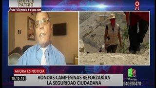 """Pérez Rocha sobre ronderos: """"Con un látigo no solucionarían problema de inseguridad ciudadana"""""""
