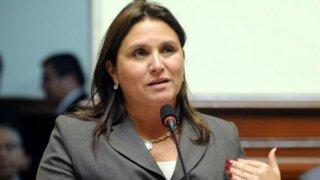 Marisol Pérez Tello: El premier debería presentar su carta de renuncia