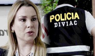 DIVIAC allana vivienda de Fiorella Molinelli y oficinas de EsSalud