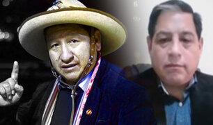"""Pedro Yaranga: """"Designación de Guido Bellido pone en riesgo la seguridad del país"""""""