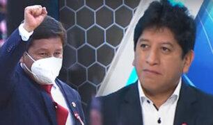 """Josué Gutiérrez: """"Nadie ha sindicado a Bellido con Sendero Luminoso"""""""