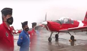 Aviones de la FAP listos para Desfile Militar