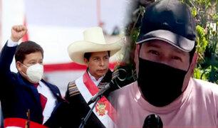 Ciudadanos cusqueños rechazan nombramiento de Guido Bellido como Premier