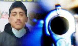 "PNP captura a peligro delincuente alias ""Matatán"""