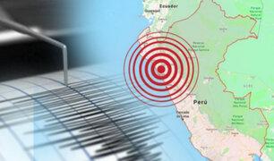 Instituto Geofísico del Perú reporta que esta madrugada dos sismos remecieron la región Piura