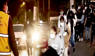 Fiestas Patrias: caos y desorden se reportó en Circuito Mágico del Agua
