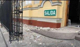 Múltiples daños materiales dejó sismo de 6.1 en la región Piura