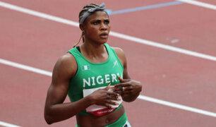 Olimpiadas Tokio 2020: velocista nigeriana fue suspendida de la competencia por doping