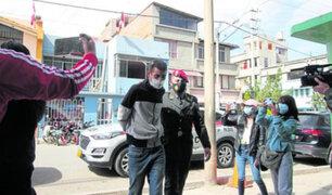 Huancayo: extranjero sale de prisión y forma banda para volver asaltar comercios