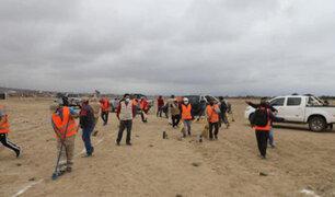 La Libertad: retiran a decenas de invasores que ocuparon zona intangible de Chan Chan