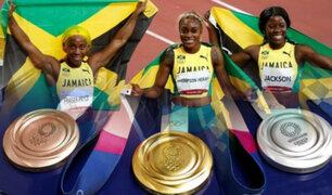 Tokio 2020: Jamaica hace historia con récord olímpico en atletismo