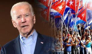 Joe Biden vuelve a sancionar a Cuba y promete más medidas