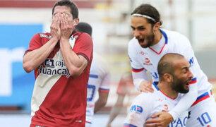 Universitario cayó 3-1 ante Carlos Mannucci por la Liga 1