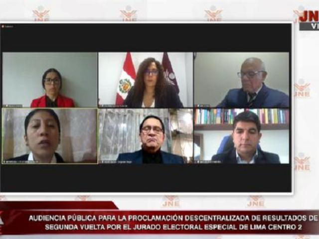 Elecciones presidenciales: 27 de 60 Jurados Electorales Especiales ya han proclamado resultados