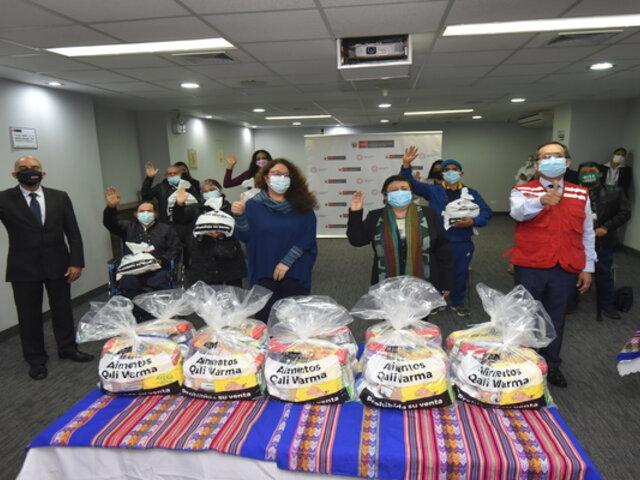 Destinan más de 23 toneladas de alimentos a poblaciones vulnerables de Lima Metropolitana