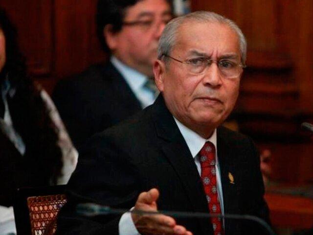 Congreso: Comisión Permanente no verá informes contra Alarcón y Chávarry este martes 6
