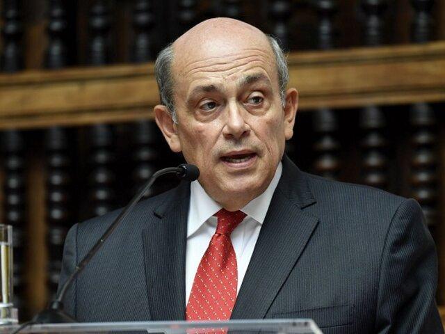 Hugo de Zela Martínez: Cancillería da por concluidas funciones del embajador