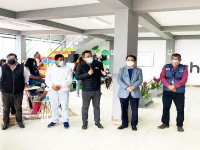 Municipalidad de Chorrillos inauguró local Wifi para escolares que no cuentan con internet