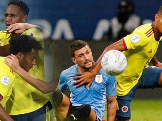 Colombia vence a Uruguay y clasificó a las semis de la Copa América 2021