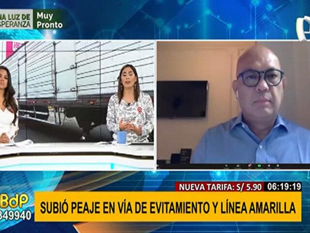 Lima Expresa explica por qué debe incrementar el precio del peaje