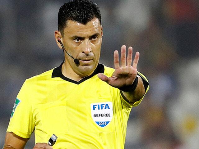 Roberto Tobar, polémico árbitro chileno, dirigirá nuevamente un Perú – Brasil