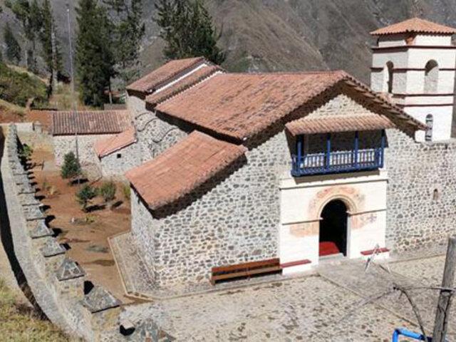 Apurímac: tras varios años de trabajo culminó restauración y puesta en valor de iglesia colonial