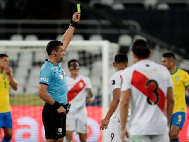 Selección peruana pidió a FPF tomar cartas en el asunto tras polémica con árbitro Roberto Tobar