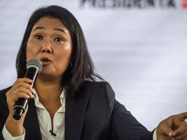 """Keiko Fujimori tras fallecimiento de Carlos Ramos: """"El Perú ha perdido un gran magistrado"""""""