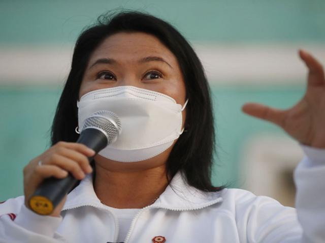 Keiko Fujimori afirmó que respetarán resultados electorales, pero debe hacerse una auditoría