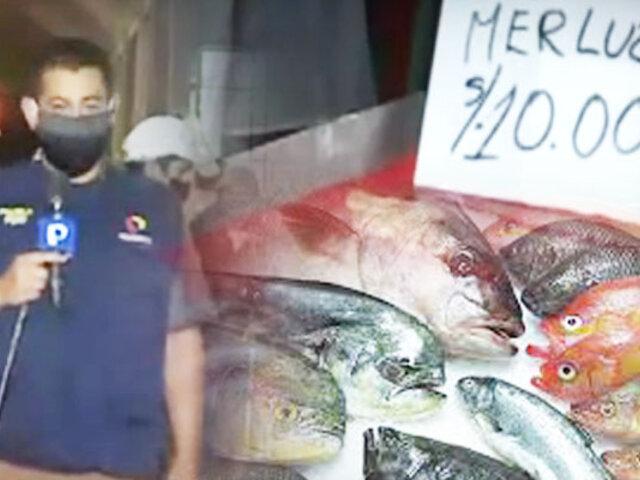 El Pescado está barato ante alza del precio del pollo