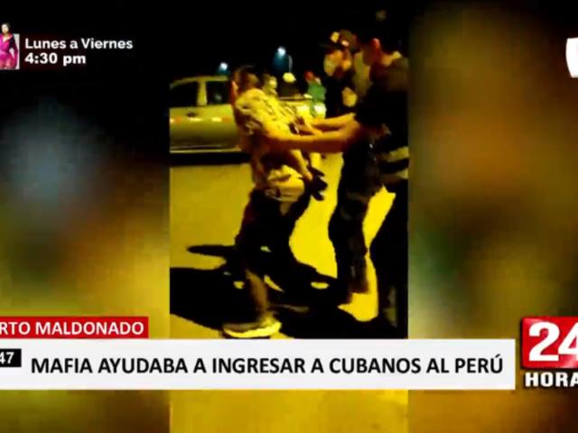 Puerto Maldonado: capturan a sujetos que ingresaban ilegalmente a cubanos