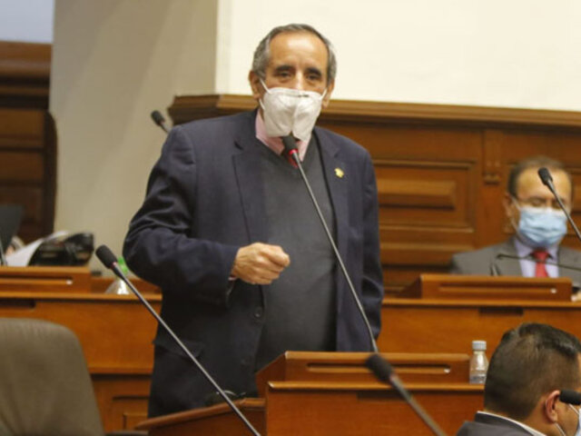 Congresista Ricardo Burga: Elección de magistrados del  TC se retomaría la próxima semana
