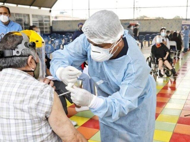 Vacunación COVID-19: reportan que Polideportivo VES registró poca afluencia esta mañana