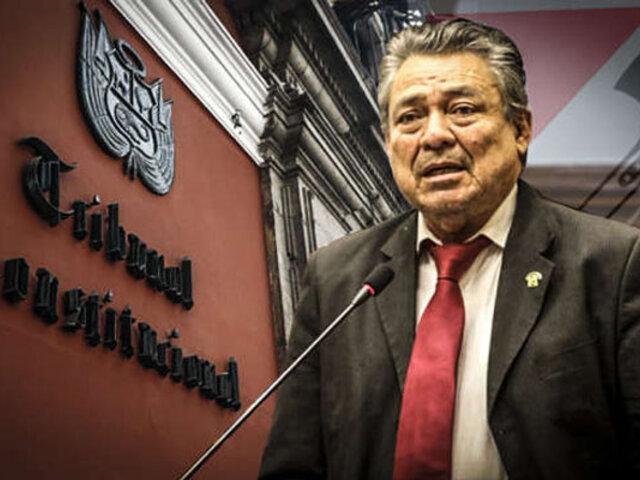 Congresista Rolando Ruíz: Hay intereses muy fuertes para que no se elija a magistrados del TC