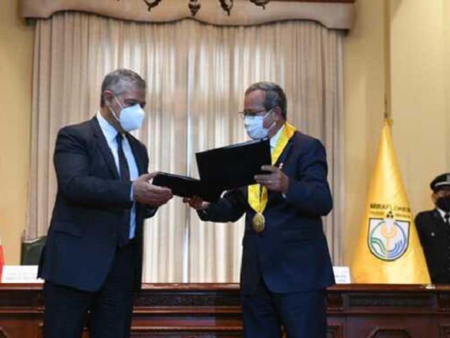Mininter y Municipalidad de Miraflores firman convenio en beneficio de la seguridad ciudadana